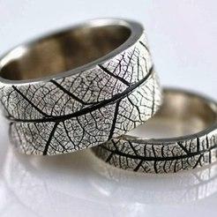 Descargar archivo 3D gratis leave ring, AramisFernandez
