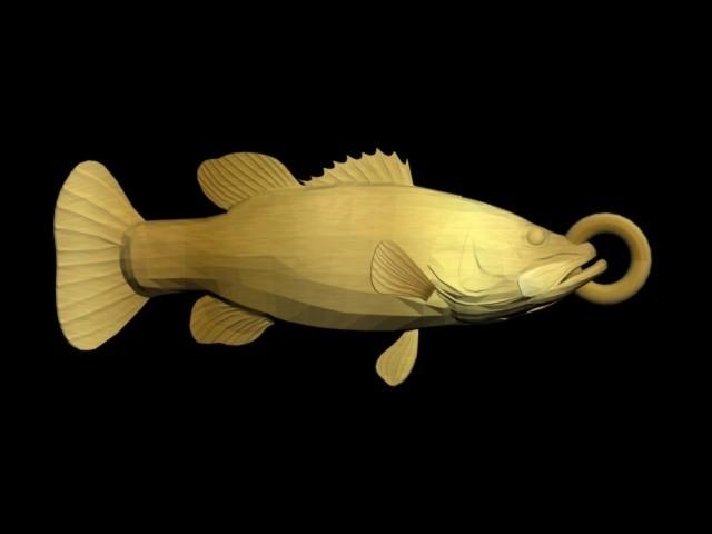bass pendant.jpg Download STL file bass pendant • 3D printable model, AramisFernandez