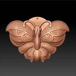 Download free STL files butterfly decoration, AramisFernandez