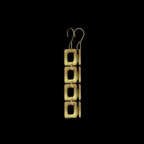 trtr.jpg Download STL file earrings squares • 3D printable model, AramisFernandez