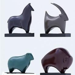 Imprimir en 3D gratis Animals scan, AramisFernandez