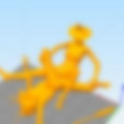 Sin título.png Download free STL file coat rack lesbian monkfish • 3D printable template, AramisFernandez