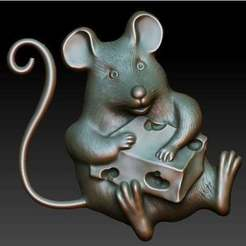 Download free 3D printer designs mouse, AramisFernandez