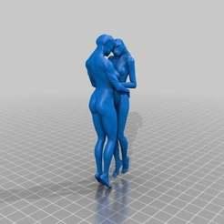 170cd174d2f8d545bd23a8c0c4676ea3_preview_featured.jpg Download free STL file EMBRACE SCULPTURE • 3D printable object, AramisFernandez