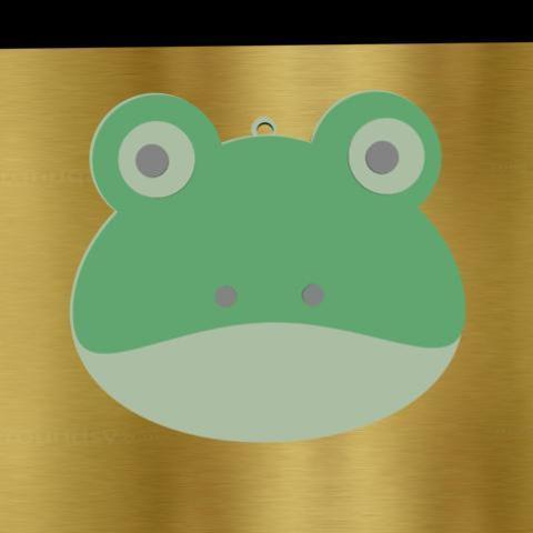 iii.jpg Download STL file frog pendant • 3D printable design, AramisFernandez