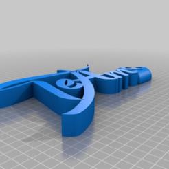 Imprimir en 3D gratis Te Amo, AramisFernandez