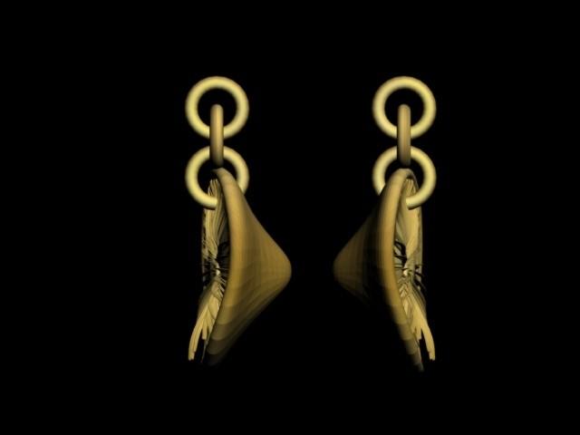 pileus mushroom pendantgg.jpg Download STL file pileus mushroom pendant earrings • Design to 3D print, AramisFernandez