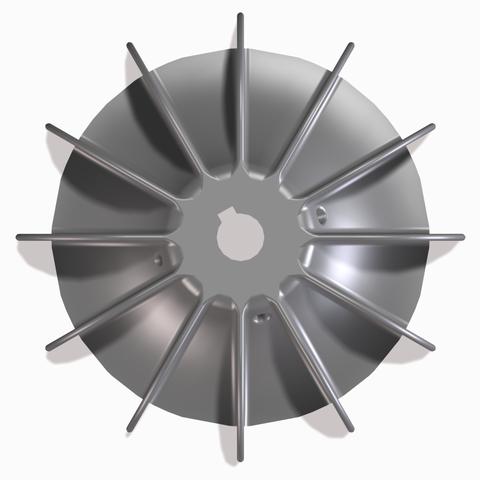STL file Propeller Electric motor, joe-790