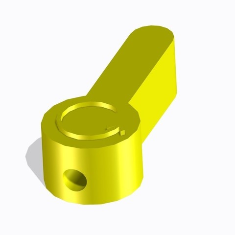 Download free STL file Button • 3D printer object, joe-790