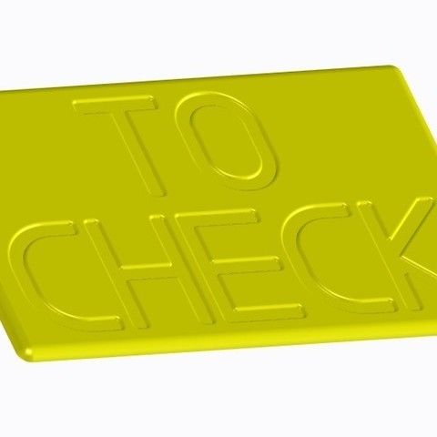Download STL file To check • 3D printing object, joe-790
