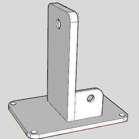 Download STL file Support Mini fan • 3D print object, technomidiazot