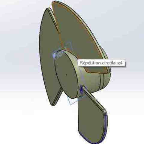 Mini fan 2.jpg Download STL file Min fan • 3D printable template, technomidiazot