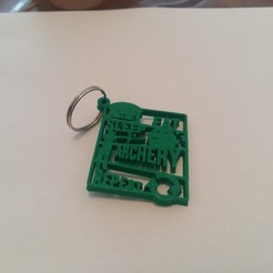 Archivos 3D Archery Keychain - EAT SLEEP REPEAT, Be3DArg