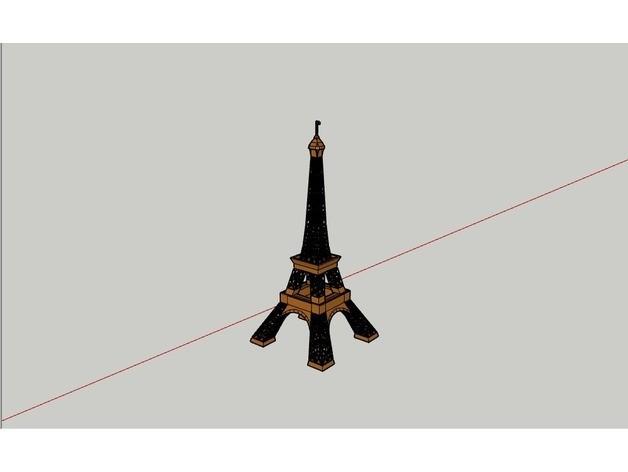tour eiffel1.jpg Download STL file Eiffel Tower • 3D printable design, yanisGameur