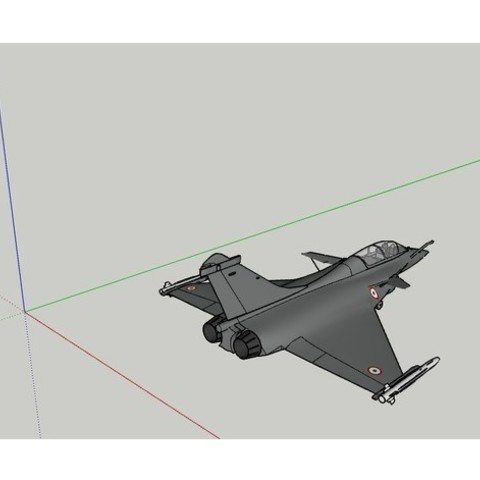 Download STL file Fighter jet • 3D printable design, yanisGameur
