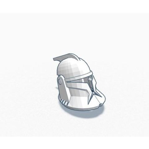 Download STL file Clone Wars - Helmet Phase 1 • 3D printable design, RoZeL