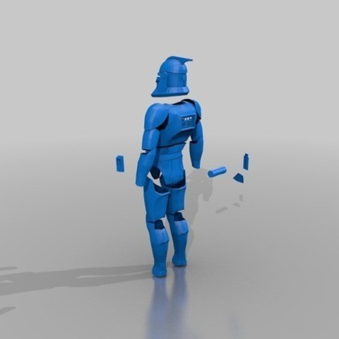 Download STL file Clone Wars - Armor Phase 1 • Template to 3D print, RoZeL
