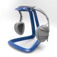 Free STL file Headphones Holder, meshtush