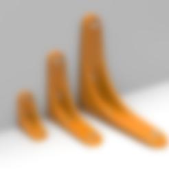 Fichier impression 3D gratuit Ensemble de support de tablette, meshtush