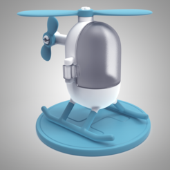 Download free 3D printer files Little Heli, meshtush