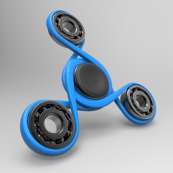 Capture d'écran 2017-06-20 à 16.46.08.png Download free STL file Infinity - Spinner • 3D printer design, meshtush