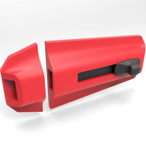 Descargar archivo 3D gratis Perno de puerta lineal, meshtush