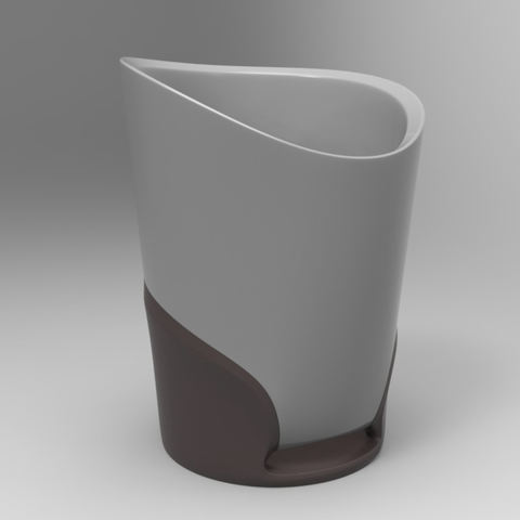 Download free STL file Bathroom Cup • 3D printer object, meshtush