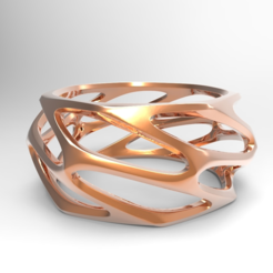 Download free STL file Parametric Ring • Model to 3D print, meshtush