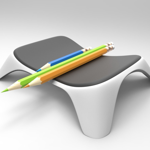 Capture d'écran 2017-06-20 à 17.22.01.png Download free STL file Marker Tray • 3D printable object, meshtush