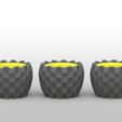 Download free STL file Parametric Flowerpots • 3D printer model, meshtush