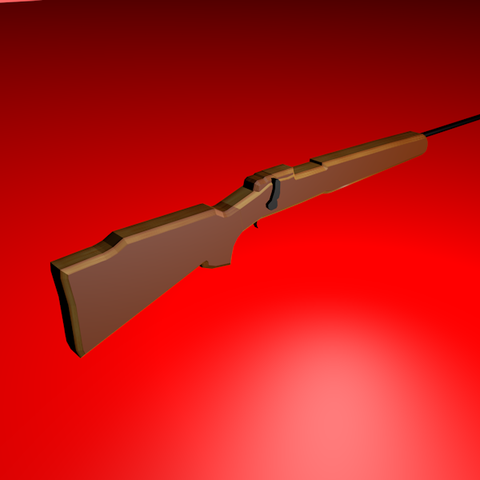 Download OBJ file Rifle Carabine • Object to 3D print, MateoArias