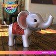 Download 3D printing designs Baby Elephant, Kimbolt