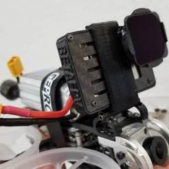 20200801_160023.jpg Download STL file GEPRC Rocket Lite Naked GoPro Mount • Model to 3D print, marblekit