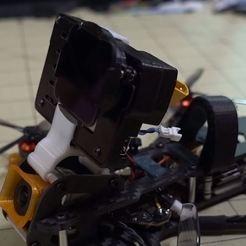 Dragon Frog.JPG Télécharger fichier STL Monture GoPro nue pour la grenouille dragon • Objet pour imprimante 3D, marblekit