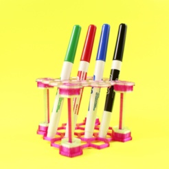 Free 3D model Pens and pens organizer, Gonzalor
