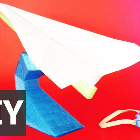 Free 3D model Paper plane, Gonzalor