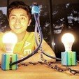 Download free STL file DIY pendant lamp with recycled materials • 3D printer template, Gonzalor