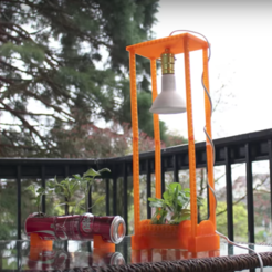 Free 3D printer designs Hydroponics garden for less than 7 USD, Gonzalor
