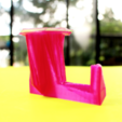 Download free STL file Headphone Hanger • 3D printing object, Gonzalor
