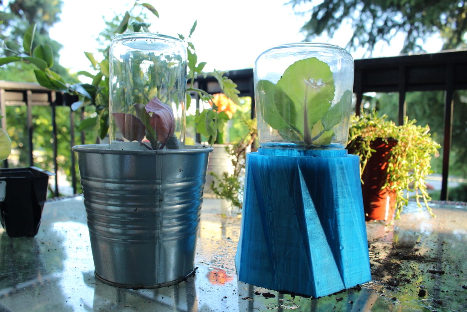 Invernadero Mini DIY1.png Download free STL file Greenhouse Mini DIY • 3D printer object, Gonzalor