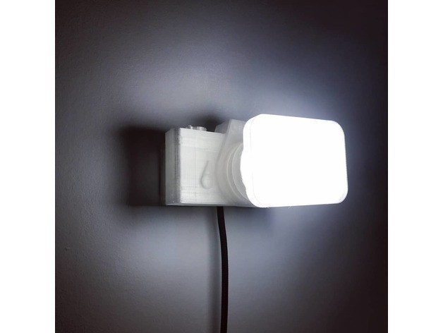 09029f38c57c3f42f5ba75eab6b913fd_preview_featured.jpg Download free STL file Not a LAMP - It is not a lamp - Camera lamp • 3D printing model, Gonzalor