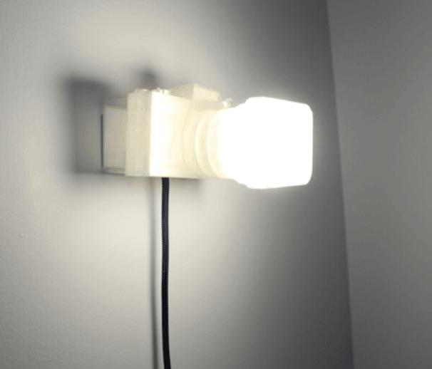 Capture d'écran 2018-03-13 à 17.07.42.png Download free STL file Not a LAMP - It is not a lamp - Camera lamp • 3D printing model, Gonzalor