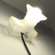 Free Not a LAMP - It is not a lamp - Camera lamp 3D printer file, Gonzalor