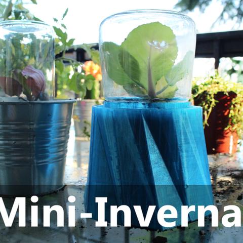 Invernadero Mini DIY11.png Download free STL file Greenhouse Mini DIY • 3D printer object, Gonzalor