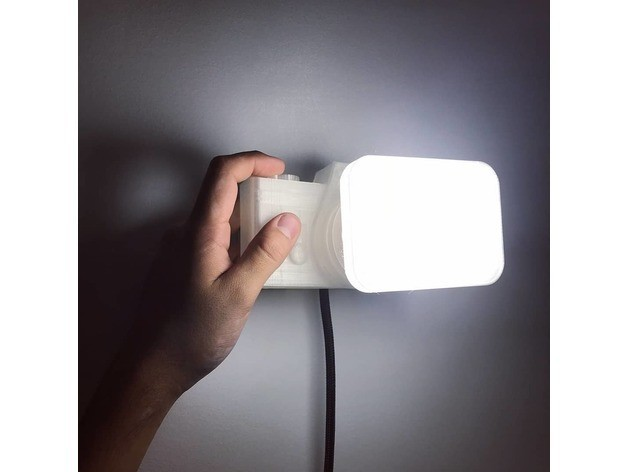 f255f6aed3a8399e94ef7fecc6ee5a3d_preview_featured.jpg Download free STL file Not a LAMP - It is not a lamp - Camera lamp • 3D printing model, Gonzalor