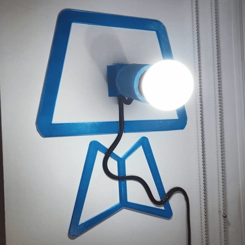 Free 3D printer files The lamp that is not a lamp, Gonzalor