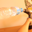 Free stl files DIY Spin & Chill Cool your drink in 15 seconds (Drill Adapter), Gonzalor
