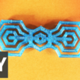 Free 3D model Hexa bow tie, Gonzalor