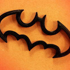 Free 3D printer files Separate books Batman Bookmark, Gonzalor