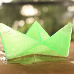 Capture d'écran 2017-08-23 à 12.46.06.png Download free STL file Paper Boat 2 • 3D printable design, Gonzalor